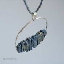 Butterfly (silver and titanium)