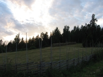 Around 21.30, the sky is still very light.