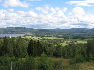 View over lake Siljan.