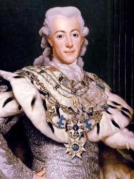 Gustav III, by Alexander Roslin, 1777.
