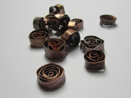 Copper roses that I made a few years ago.